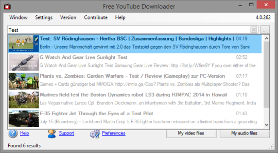 Free YouTube Downloader free Download